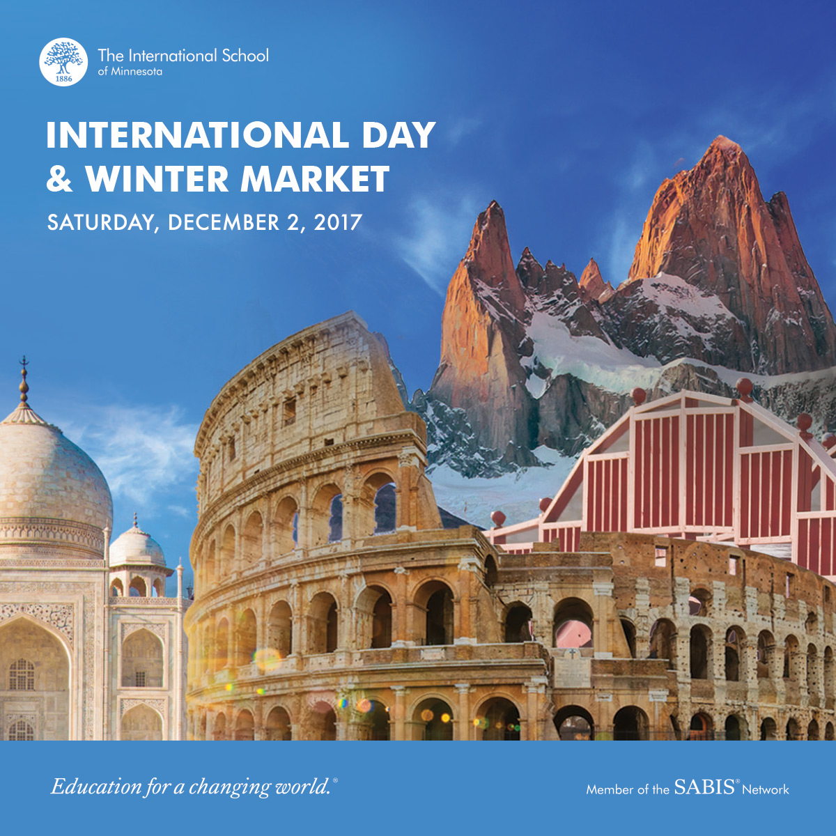 International Day & Winter Market Event 12/2/2017