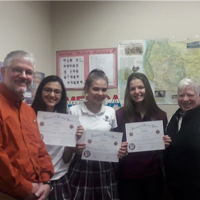 Patriot's Pen Youth Essay Competition Winners