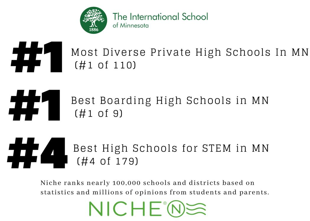 International School Ranks #1 On Niche